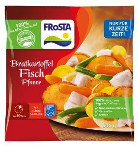 Bratkartoffel Fisch Pfanne