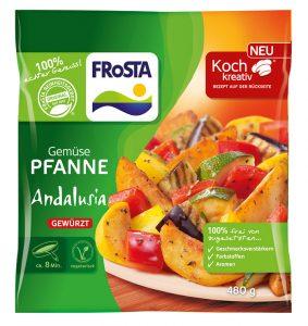 Gemüse Pfanne Andalusia