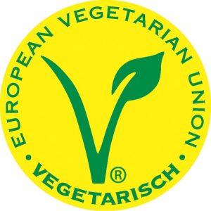 Das V-Label vom Vegetarierbund