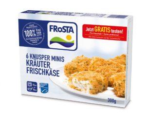 Knusper Minis mit Frischkäse-Füllung