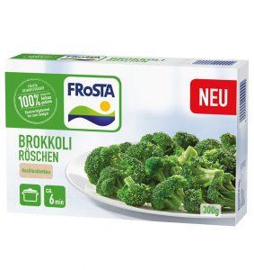 Neu bei FRoSTA: Brokkoli Röeschen
