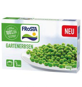 Neu bei FRoSTA: Gartenerbsen