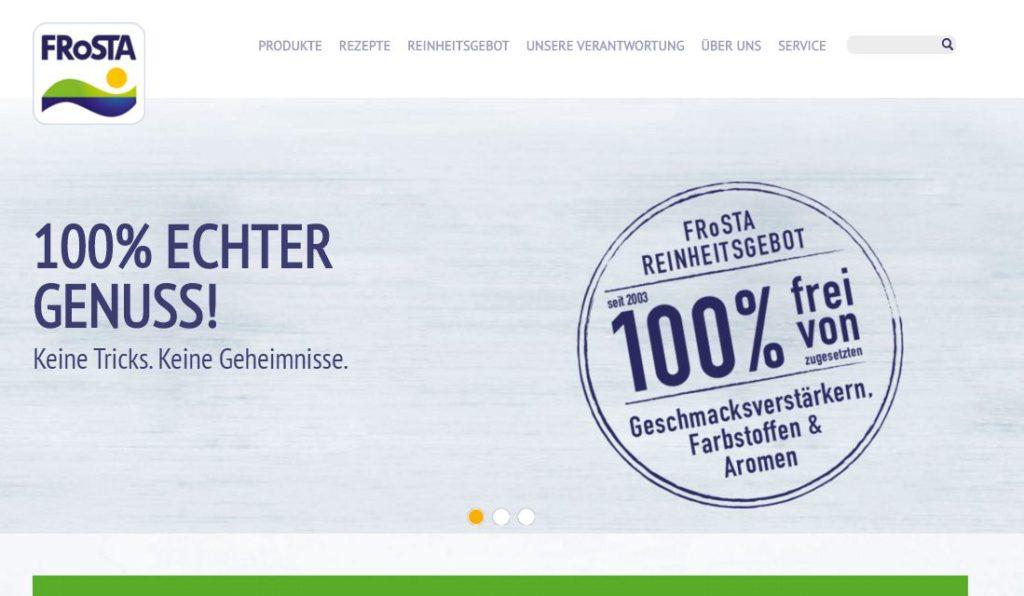 FRoSTA Tiefkühlkost www.frosta