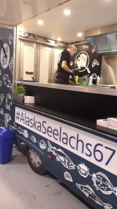 Seelachs Burger-Bar